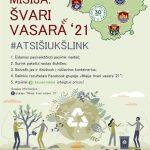 """Lietuvoje vėl startuoja """"Misija: švari vasara!"""""""