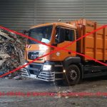 Telšių regione ekstremali padėtis  dėl atliekų